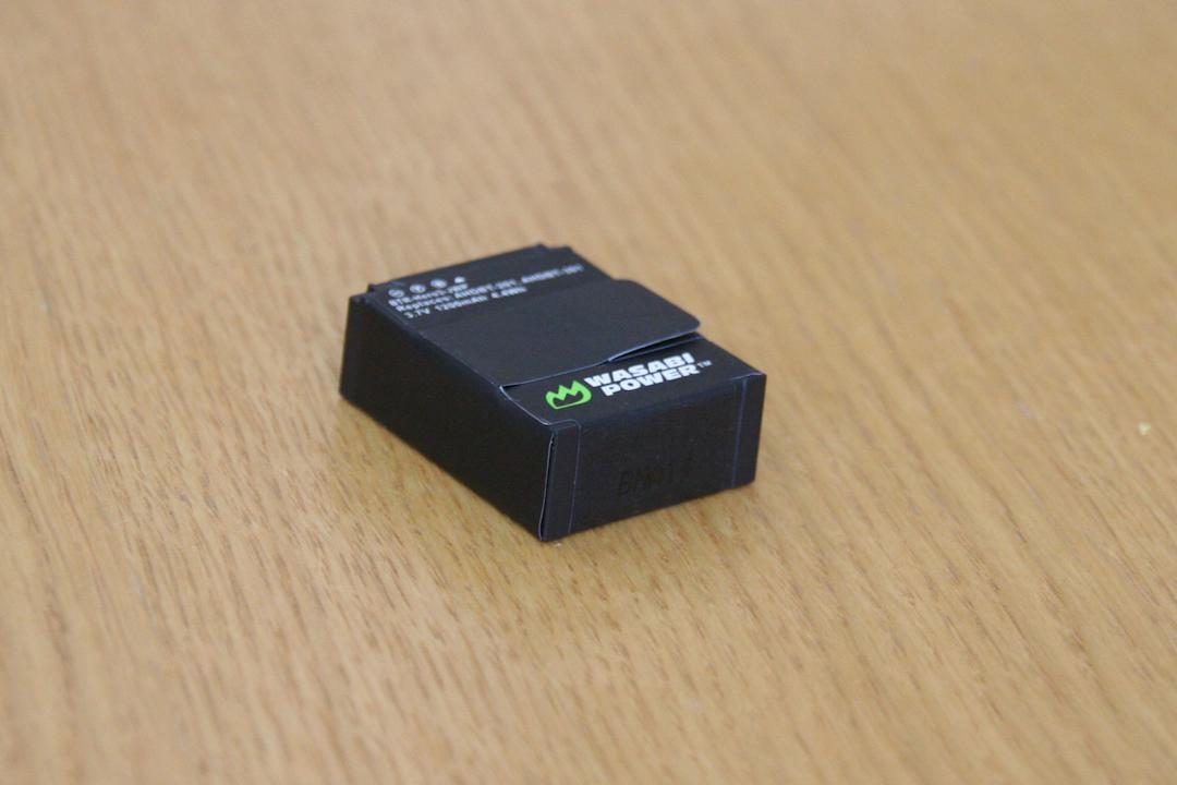 GoPro3用の予備バッテリー買ってみたで。