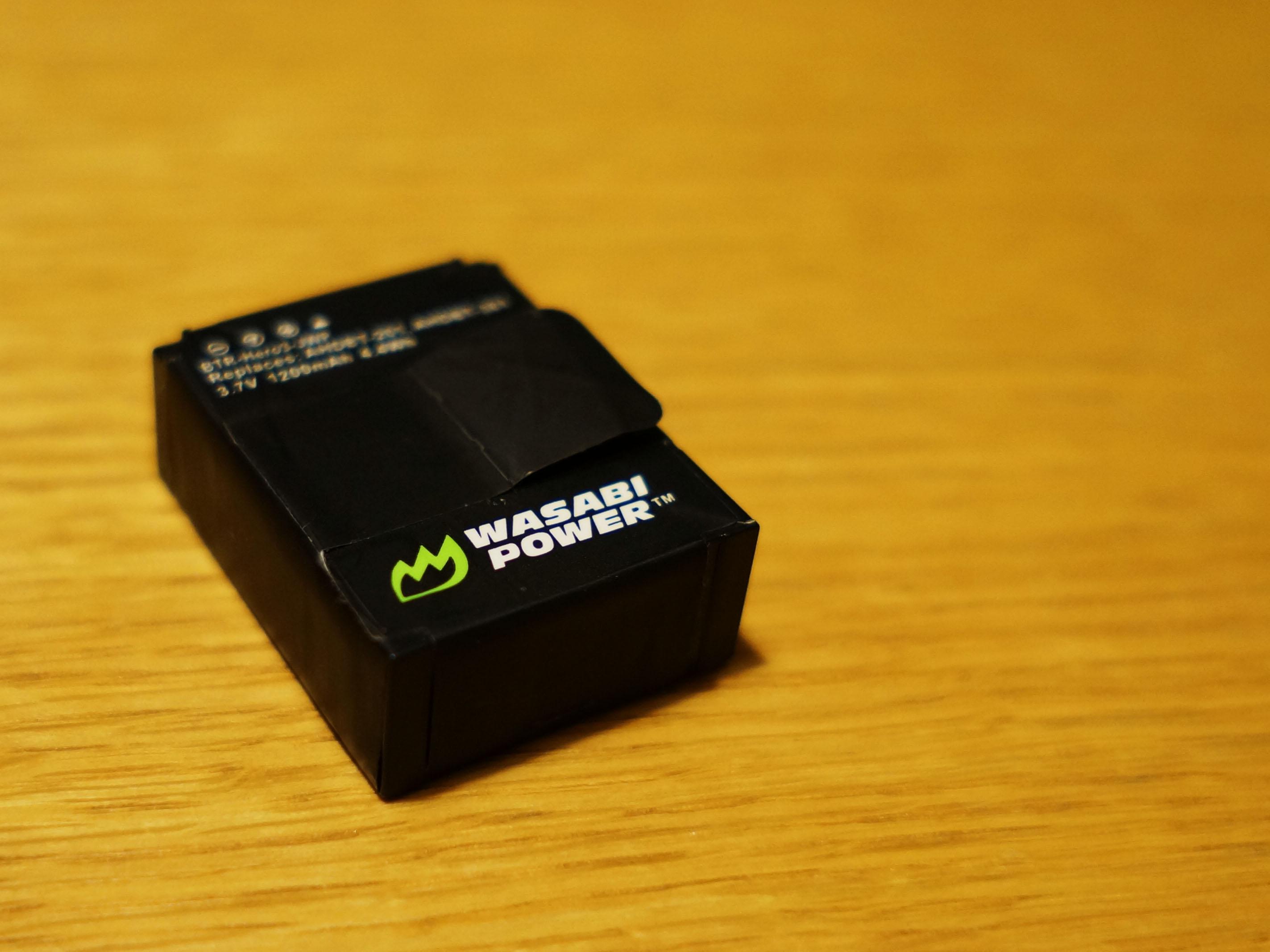 GoPro HERO3 純正vs WASABI Power バッテリー比べ