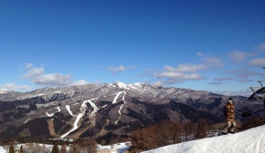 白鳥高原でスノーボードしてきた。