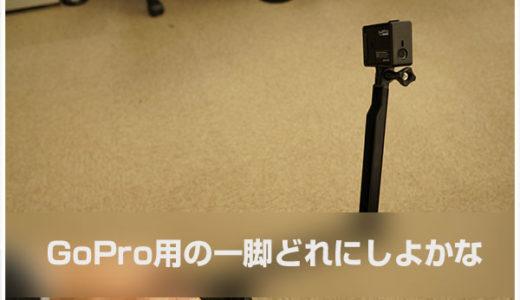 買うならどれ?スノーボードに使えるGoPro用の自撮り棒・追い撮り用一脚選び