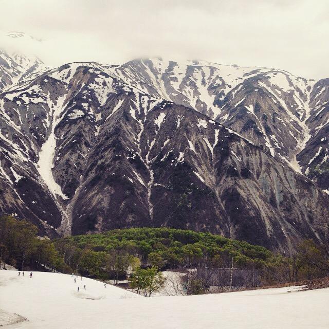 GWでも雪が残ってて滑れる白馬へ行ってみた