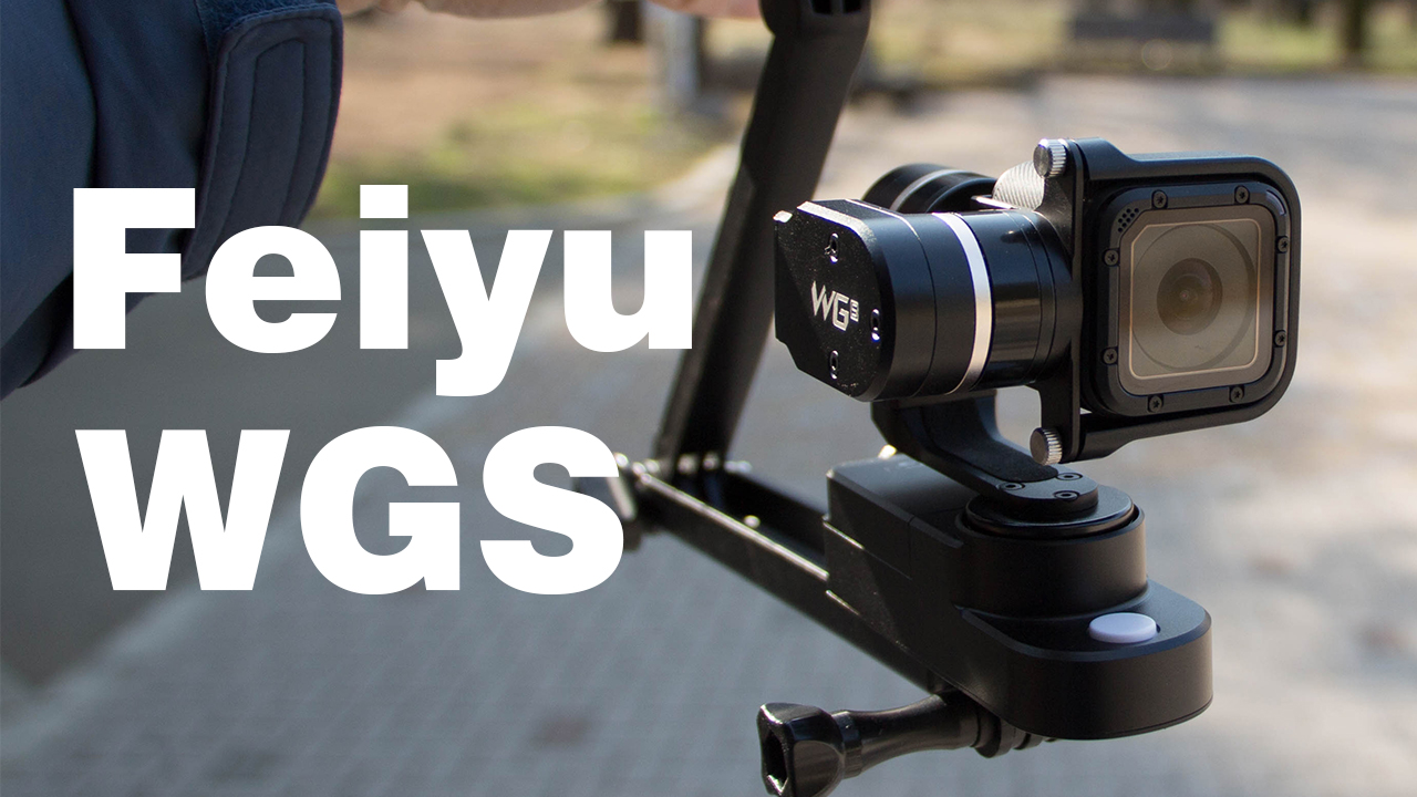 これでヌルヌル動画撮れる!Feiyu WGSを購入。GoPro Session用3軸ジンバルや~