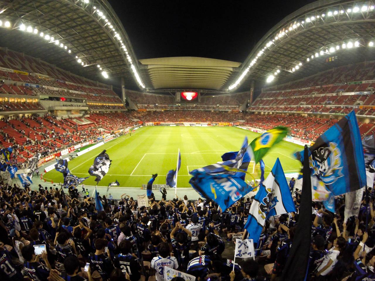 2016 J1リーグ ガンバ大阪のアウェイ名古屋戦を見に豊田スタジアムへ行ってきた
