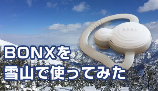 かぐらスキー場でBONX Gripを使ったら全然ダメだった件