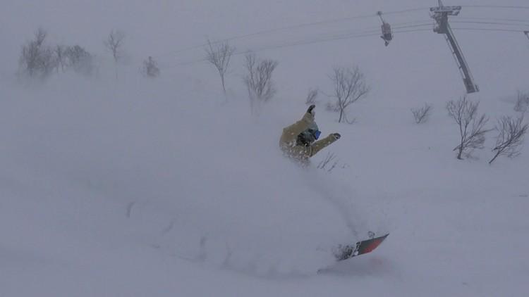 須原スキー場パウダー