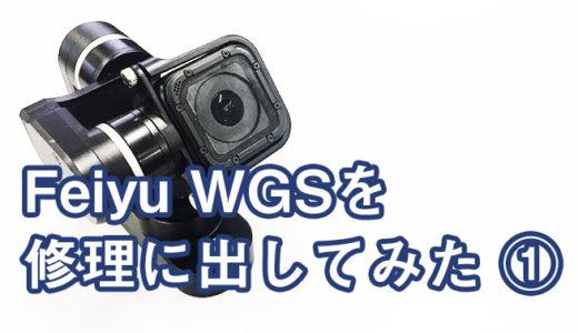 Feiyu WGSが故障したので修理に出すことにしたで